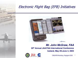 Electronic Flight Bag EFB Initiatives