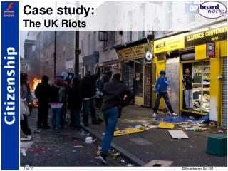 Case study: The UK Riots