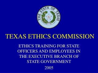 TEXAS ETHICS COMMISSION