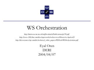 WS Orchestration