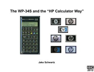 The WP-34S and the �HP Calculator Way�