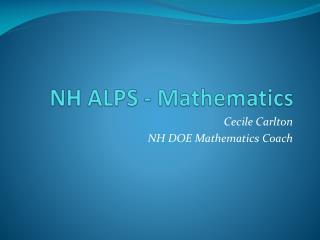 NH ALPS - Mathematics