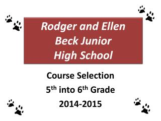 Rodger and Ellen Beck Junior  High  School