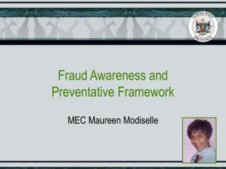 Fraud Awareness and  Preventative Framework