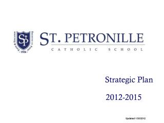 Strategic Plan                       2012-2015