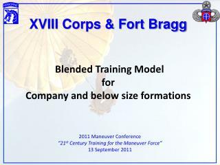 XVIII Corps & Fort Bragg