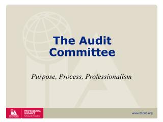 The Audit Committee