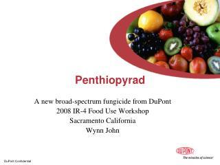 Penthiopyrad