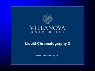 Liquid Chromatography 2