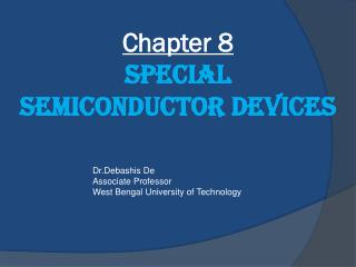 Chapter 8 Special Semiconductor Devices