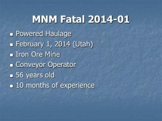 MNM Fatal 2014-01