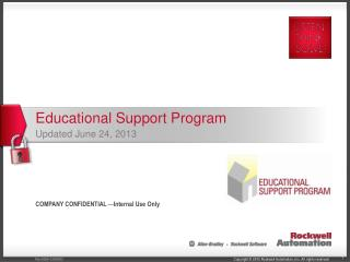 Educational  Support  Program Updated June 24, 2013