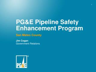 PG&E Pipeline Safety Enhancement Program