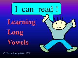 I  can  read !