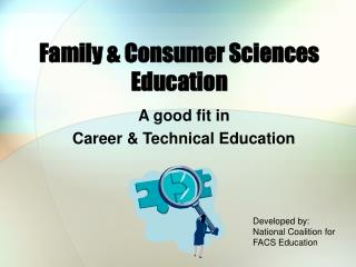 Family  Consumer Sciences Education