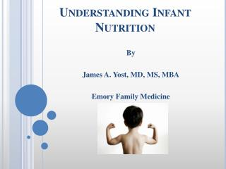 Understanding Infant Nutrition