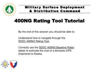 400NG Rating Tool Tutorial