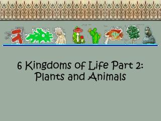 6 Kingdoms of Life Part 2: Plants and Animals