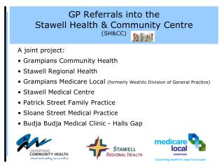 GP Referrals into the Stawell Health & Community Centre (SH&CC)