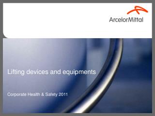 Lifting devices and equipments