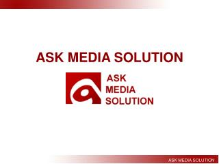 Ask Media Solution Web Design and SEO Company in Pune