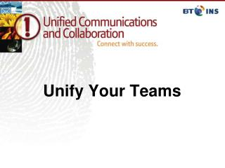 Unify Your Teams