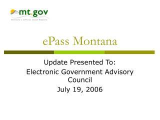 ePass Montana