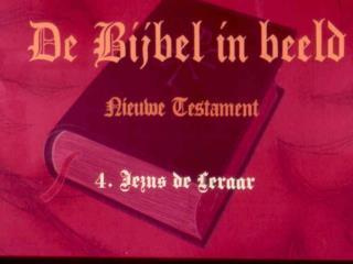 NT Jezus de Leraar