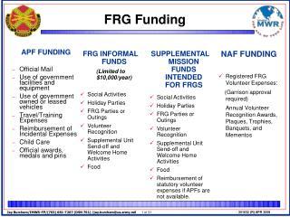 FRG Funding