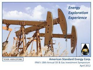 Energy Exploration Experience