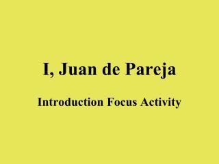 I, Juan de Pareja