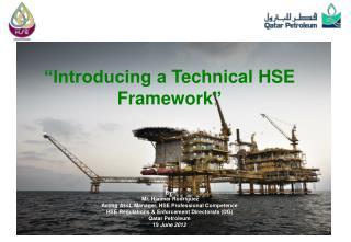 HSE (DG) Directorate tasks