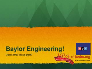 Baylor Engineering!