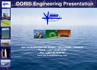 DORIS Engineering Presentation