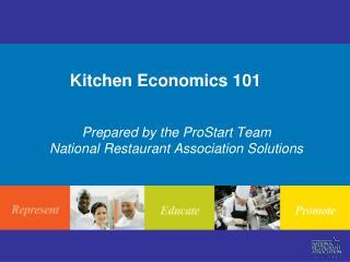 Kitchen Economics 101