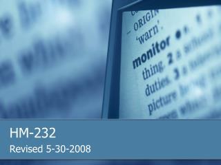 HM-232