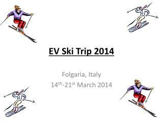EV Ski Trip 2014