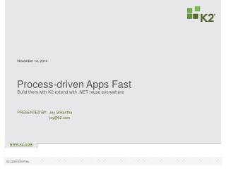Process-driven Apps Fast