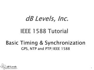 dB Levels, Inc.