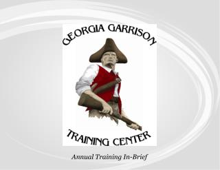 Annual Training In-Brief
