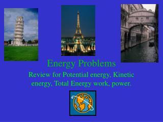 Energy Problems