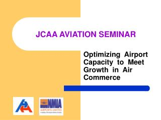 JCAA AVIATION SEMINAR