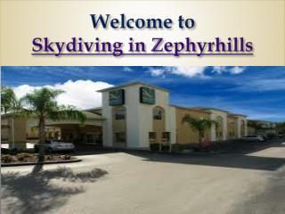 Skydiving in Zephyrhills