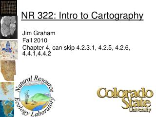 NR 322: Intro to Cartography
