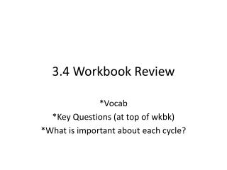 3.4 Workbook Review