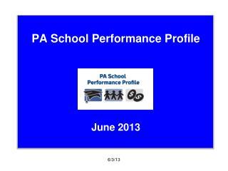 PA School Performance Profile