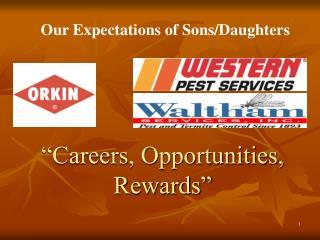 Careers, Opportunities, Rewards