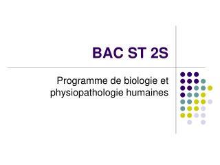 BAC ST 2S