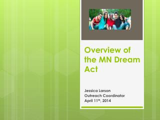 Overview of the MN Dream Act