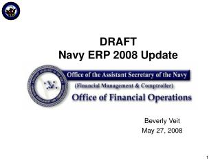 DRAFT Navy ERP 2008 Update